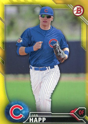 Photo of 2016 Bowman Prospects Yellow #BP64 Ian Happ