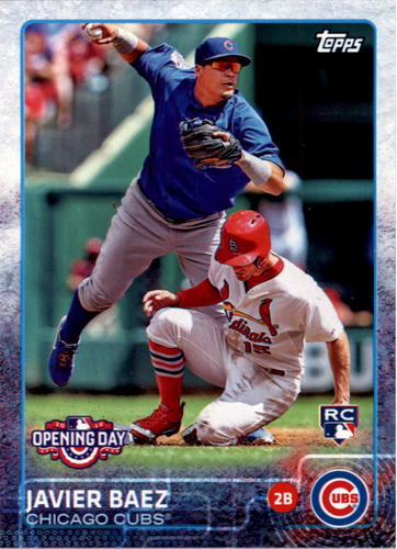 Photo of 2015 Topps Opening Day #188A Javier Baez Rookie Card