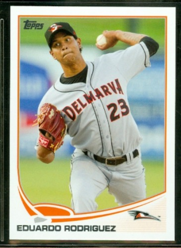 Photo of 2013 Topps Pro Debut #173 Eduardo Rodriguez