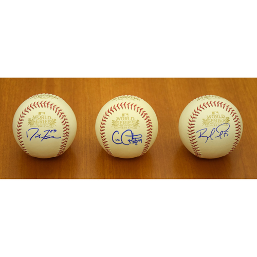 Photo of David Freese, Chris Carpenter and Rafael Furcal St. Louis Cardinals Autographed 2011 World Series Baseball Collection (NOT MLB Authenticated)