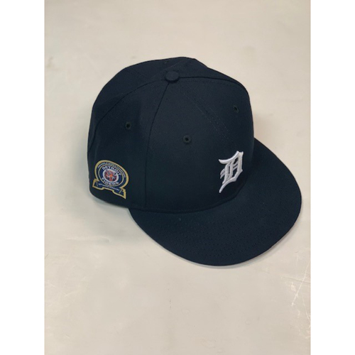 Photo of Game-Used 50th Anniversary Commemorative Cap: Drew VerHagen
