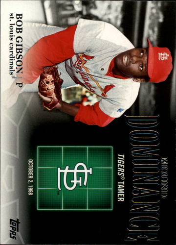 Photo of 2012 Topps Mound Dominance #MD6 Bob Gibson