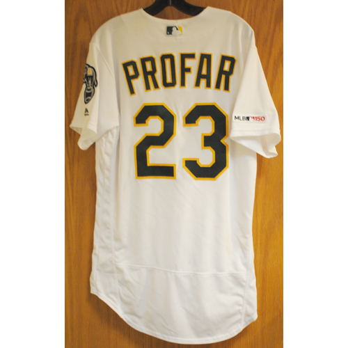 Photo of Jurickson Profar Game Used No-Hitter 5/7/19 Jersey