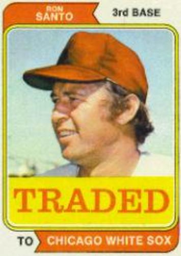 Photo of 1974 Topps Traded #270T Ron Santo