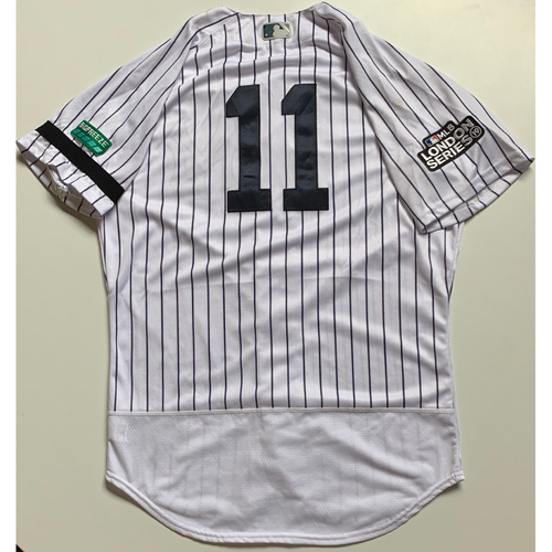 new styles 357b4 43818 Yankees Auctions | 2019 London Series - Game-Used Jersey ...