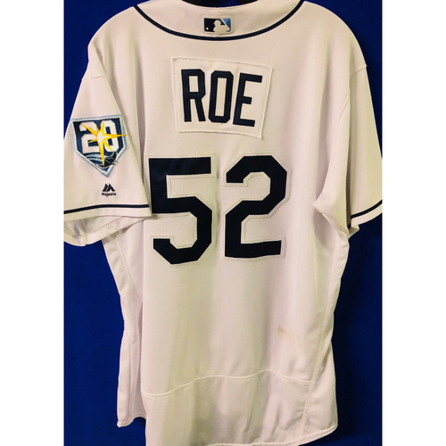 Photo of Game-Used Jersey: Chaz Roe (size 48) - September 24-27 (NYY) & September 28 (TOR)
