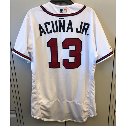 Photo of Compton Youth Academy Auction: Ronald Acuna Jr. Game-Used Atlanta Braves Jersey (8/31/19 vs. CWS)