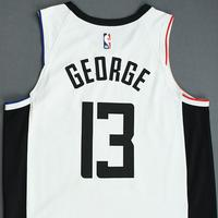 Paul George - Los Angeles Clippers - Christmas Day' 19 - Game-Worn City Edition Jersey - Worn 2 Games - Scored Team-High 34 Points on 12/19/19
