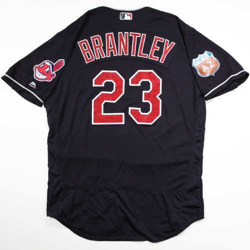 Photo of 2016 Spring Training - Spring Training Game Used Jersey - Michael Brantley (Indians)- Size- 48