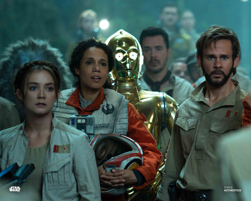 C-3PO, Beaumont Kin, Lieutenant Connix and Tyce