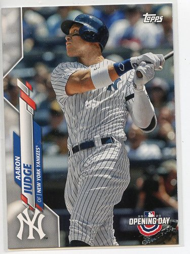 Photo of 2020 Topps Opening Day #31 Aaron Judge