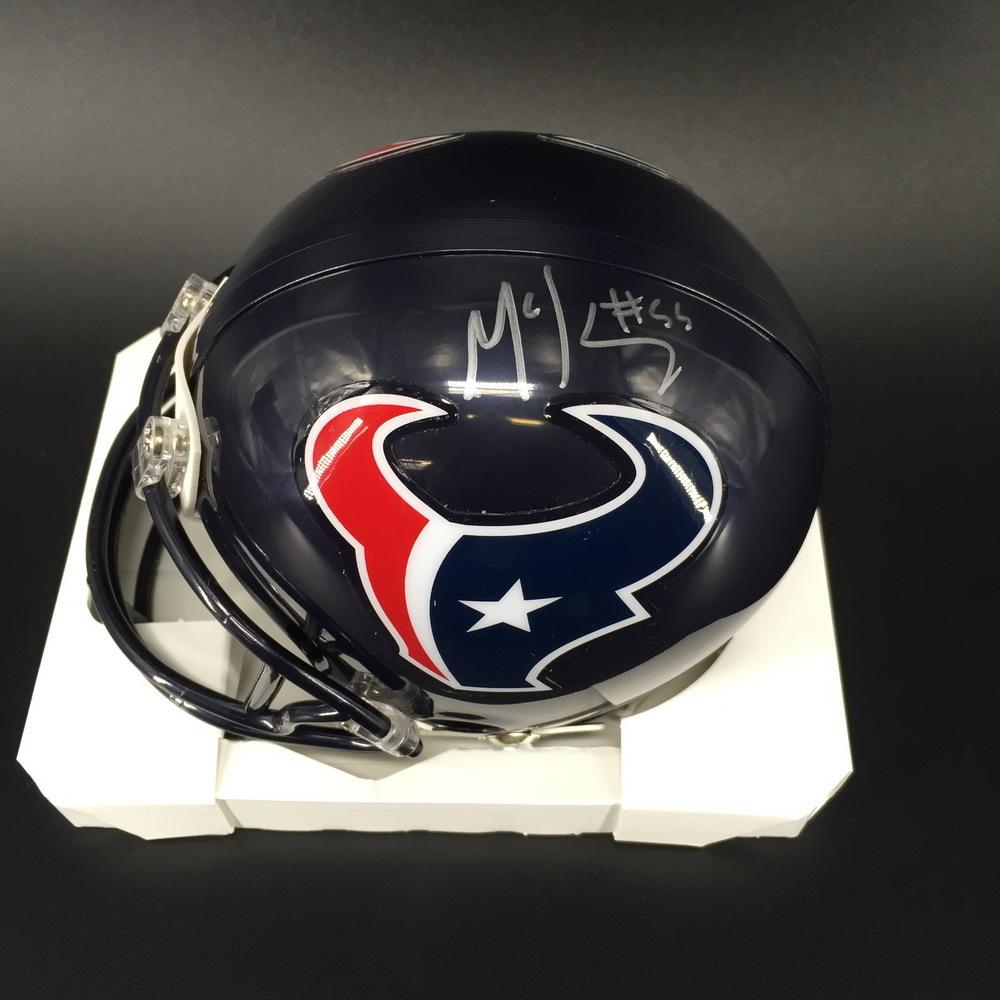 NFL - Texans Benardrick McKinney Signed Mini Helmet