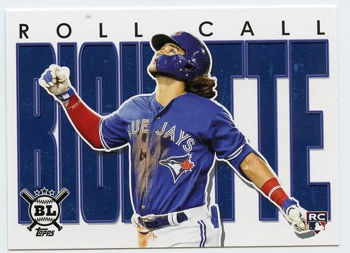 Photo of 2020 Topps Big League Roll Call #RC28 Bo Bichette