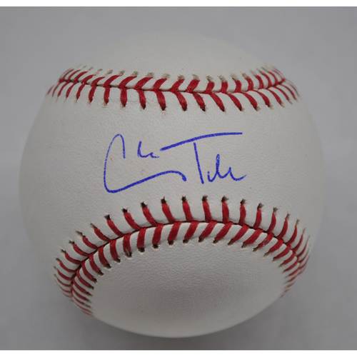Photo of Autographed Baseball: Cole Tucker