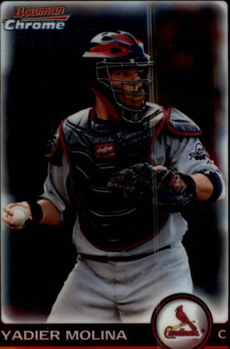 Photo of 2010 Bowman Chrome #67 Yadier Molina