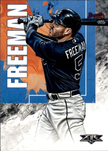 Photo of 2019 Topps Fire #28 Freddie Freeman