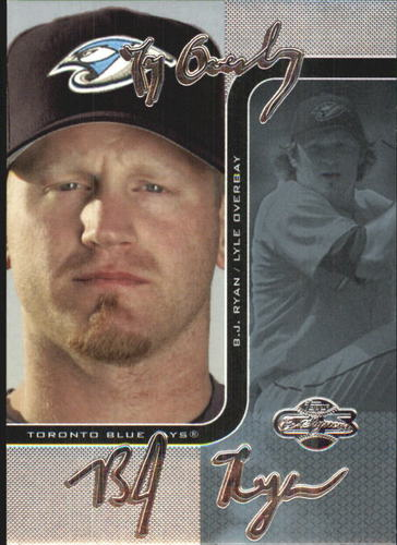 Photo of 2006 Topps Co-Signers Changing Faces Silver Blue #66C Lyle Overbay/B.J. Ryan