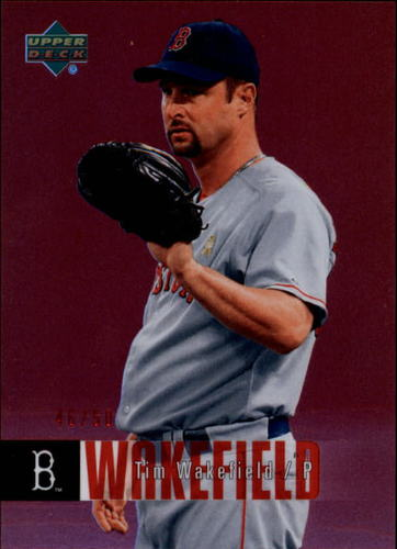Photo of 2006 Upper Deck Special F/X Red #84 Tim Wakefield /50