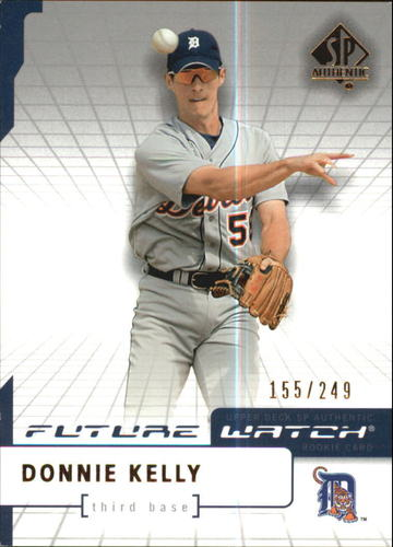 Photo of 2004 SP Authentic 499/249 #98 Donnie Kelly FW