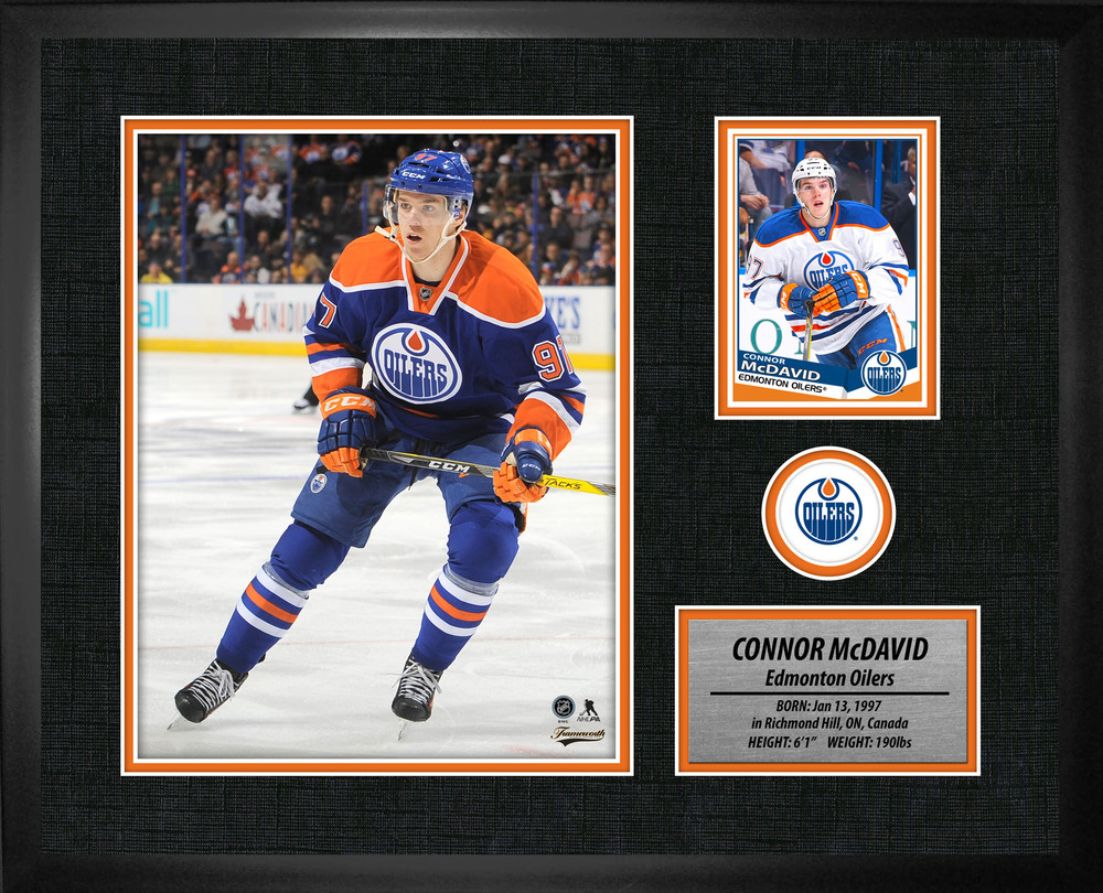 Connor McDavid - Oilers PhotoCard Frame
