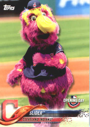 Photo of 2018 Topps Opening Day Mascots #M9 Slider