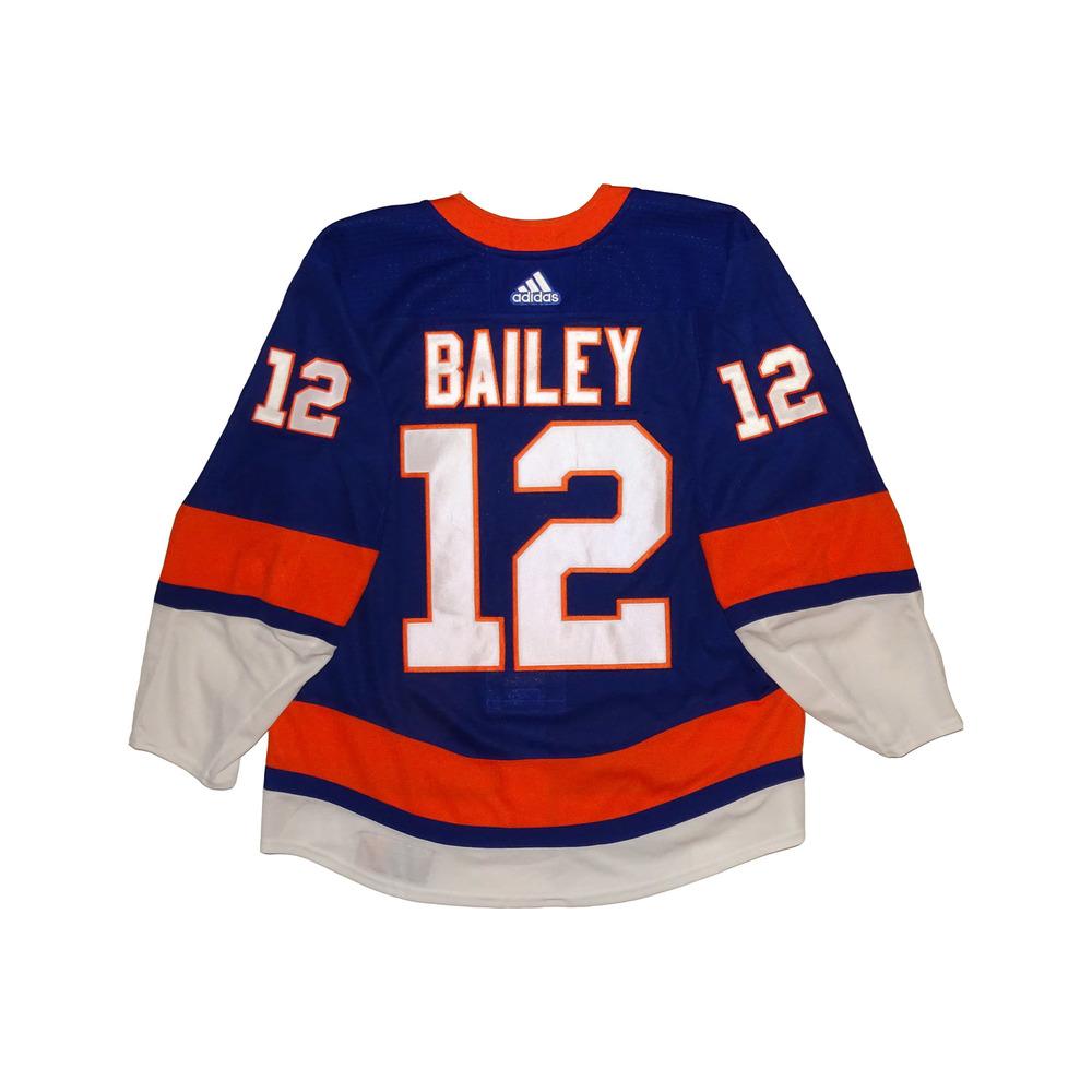 online retailer 92662 1fd75 Josh Bailey - Game Worn Home Jersey - 2017-18 Season - New ...