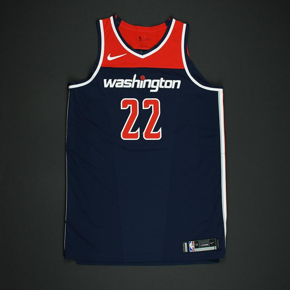 Otto Porter Jr - Washington Wizards - 2018 NBA Playoffs Game-Worn 'Statement' Jersey