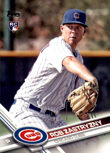 Photo of 2017 Topps #478 Rob Zastryzny RC