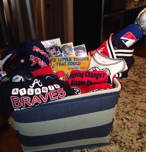 Braves Charity Auction: Kris Medlen Favorite Things Gift Basket