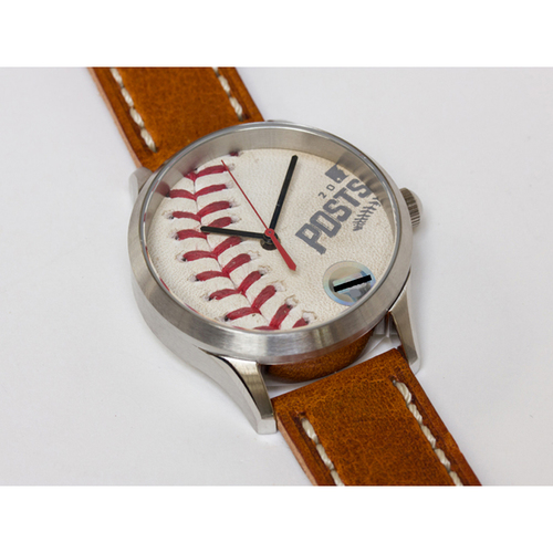 Photo of Tokens & Icons Toronto Blue Jays 2016 ALDS Game Used Baseball Watch - Game 1