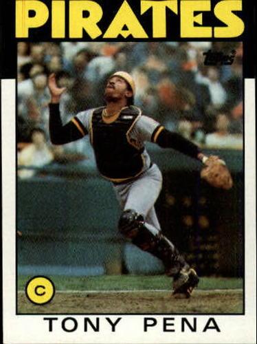 Photo of 1986 Topps #260 Tony Pena