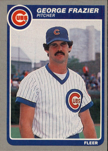 Photo of 1985 Fleer #58 George Frazier