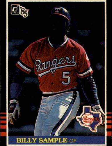 Photo of 1985 Donruss #464 Billy Sample