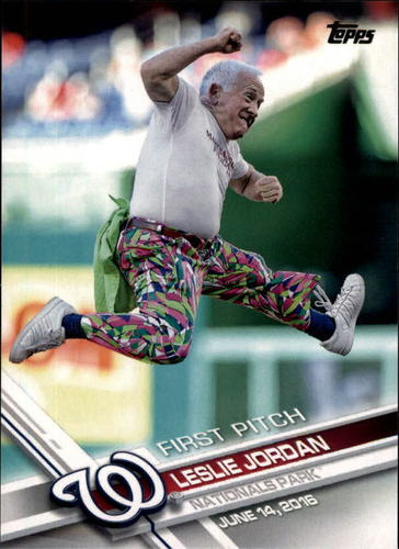 Photo of 2017 Topps First Pitch #FP10 Leslie Jordan