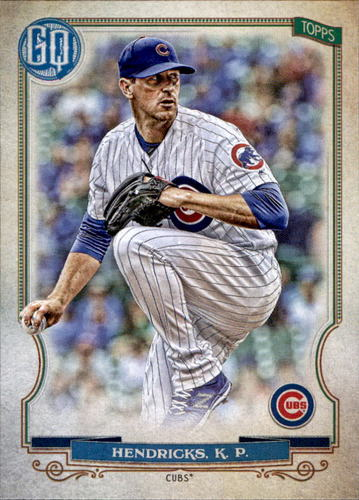 Photo of 2020 Topps Gypsy Queen #72 Kyle Hendricks