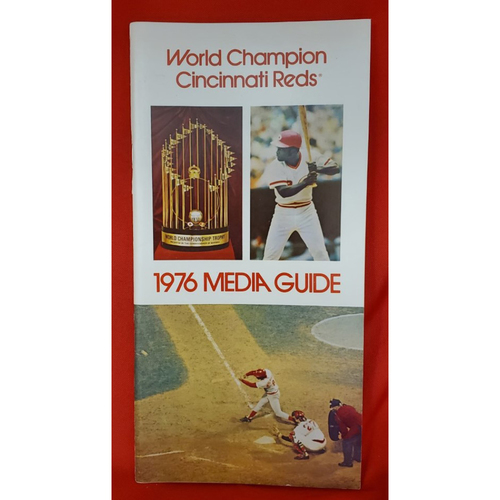 Photo of 1976 Cincinnati Reds Media Guide