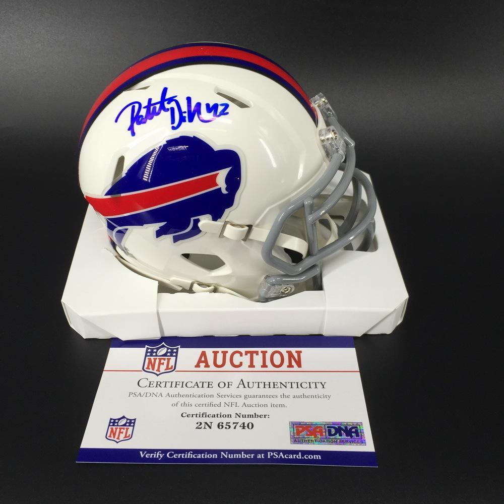 Bills - Patrick Dimarco Signed Mini Helmet