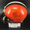NFL - Browns Myles Garett Signed Proline Helmet