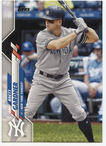 Photo of 2020 Topps #614 Brett Gardner