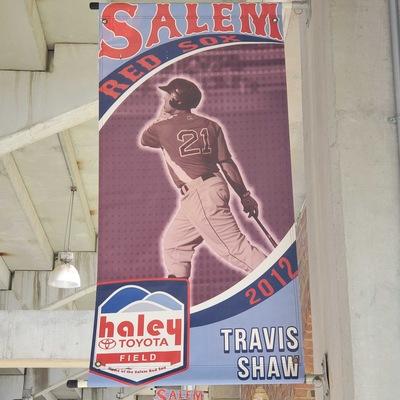 Travis Shaw Concourse Banner