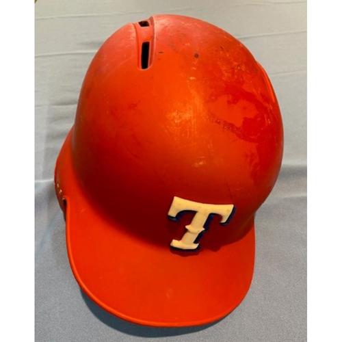 Photo of Rougned Odor Team-Issued Red Batting Helmet