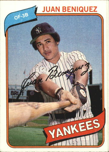Photo of 1980 Topps #114 Juan Beniquez