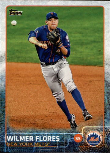 Photo of 2015 Topps #562 Wilmer Flores