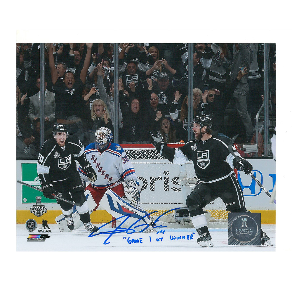 JUSTIN WILLIAMS Signed & Inscribed Los Angeles Kings 8 X 10 Photo - 70330