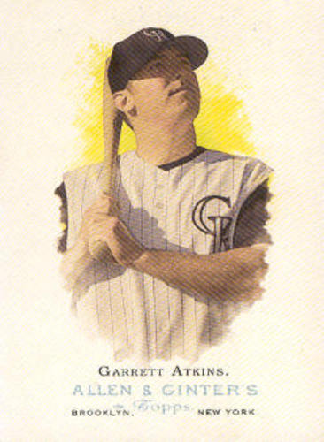 Photo of 2006 Topps Allen and Ginter #118 Garrett Atkins
