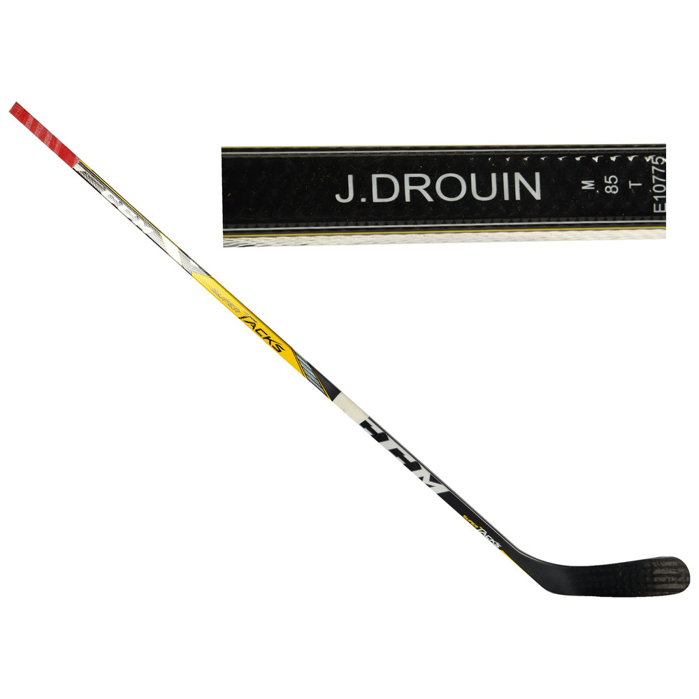 Jonathan Drouin Montreal Canadiens Team North America 2016 World Cup of Hockey Tournament-Used CCM Supertacks Broken Hockey Stick