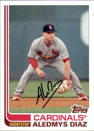 Photo of 2017 Topps Archives #157 Aledmys Diaz