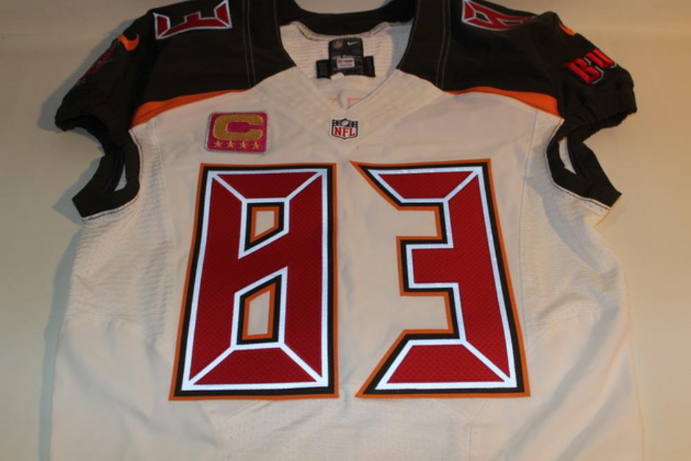 NFL Auction | BCA - BUCCANEERS VINCENT JACKSON GAME ISSUED ...