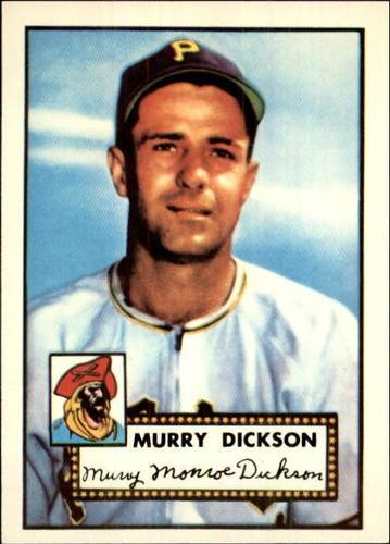 Photo of 1983 Topps 1952 Reprint #266 Murry Dickson