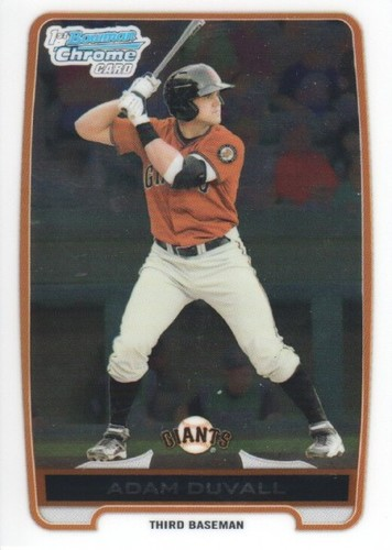 Photo of 2012 Bowman Chrome Prospects #BCP44 Adam Duvall Pre-Rookie Card